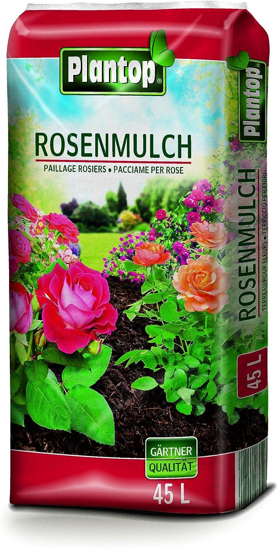Plantop - Mantillo para rosal, 45 litros, calidad de jardinero, de Baviera: Amazon.es: Jardín