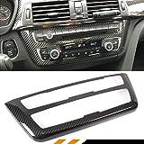 BMW M3 M4 & BMW F30 F32 F33 F36対応 CD AC コンソールコントロールパネル カーボンファイバートリム ハードカバー (右ハンドル車との互換性は保証しかねます)