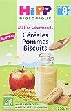 Hipp Biologique Céréales Pommes Biscuits Dès 8 Mois 6 Boîtes de 250 g