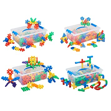 Ecr4kids Manitive Mania Math Building Set 1 Silly Stars Blocks Criss