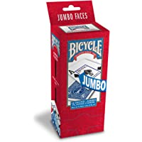 Bicycle Poker Playing Cards, Choose from Regular or Jumbo Index