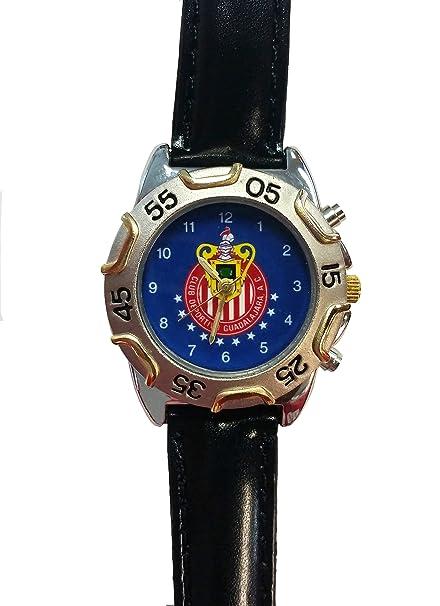 Amazon.com: Chivas del Guadalajara Azul Reloj de ventilador ...
