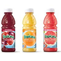 24-Count Tropicana Mixer 3-Flavor Juice Variety Pack (Orange, Cranberry, and Ruby Red Grapefruit)