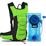 HIKPEED Hydration Backpack with 2L Leakproof Water Bladder, Water Backpack for Hiking, Lightweight Hydration Pack for Cycling