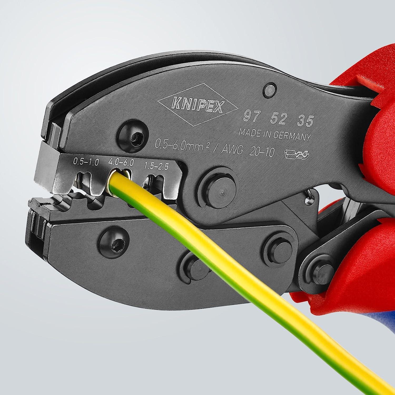KNIPEX 97 52 33 PreciForce Pince /à sertir pour cosses tubulaires manchons