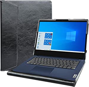 "Alapmk Protective Cover Case for 14"" Lenovo Ideapad 3 14IML05 14ADA05 14ARE05 14IGL05 14IIL05/ideapad S145 S145-14IWL S145-14API Laptop[Note:Not fit IdeaPad 3 CB 14IGL05],Black"