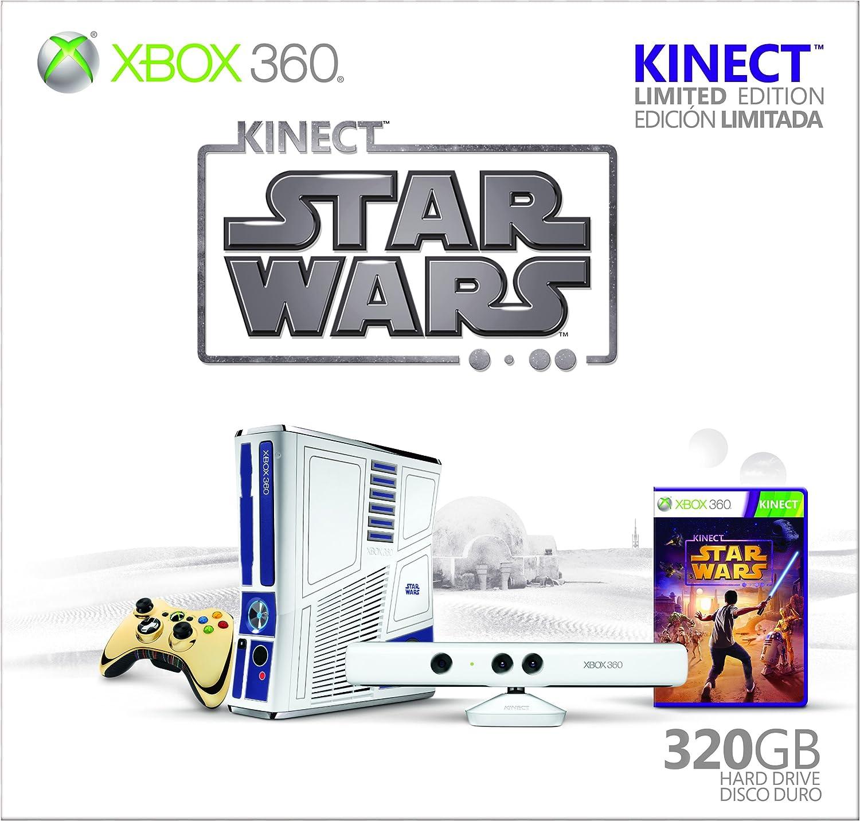 Xbox 360 Limited Edition Kinect Star Wars Bundle