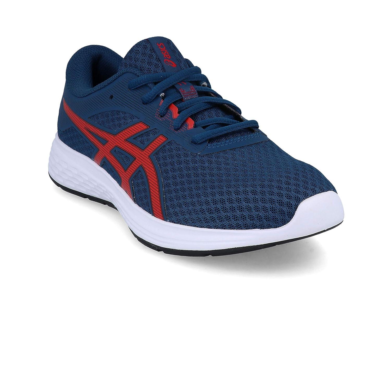 terrorista conversacion Ups  Buy ASICS Unisex's Mako Blue/Classic Red Running Shoes-4 UK (37.5 EU) (5  US) (1014A070) at Amazon.in