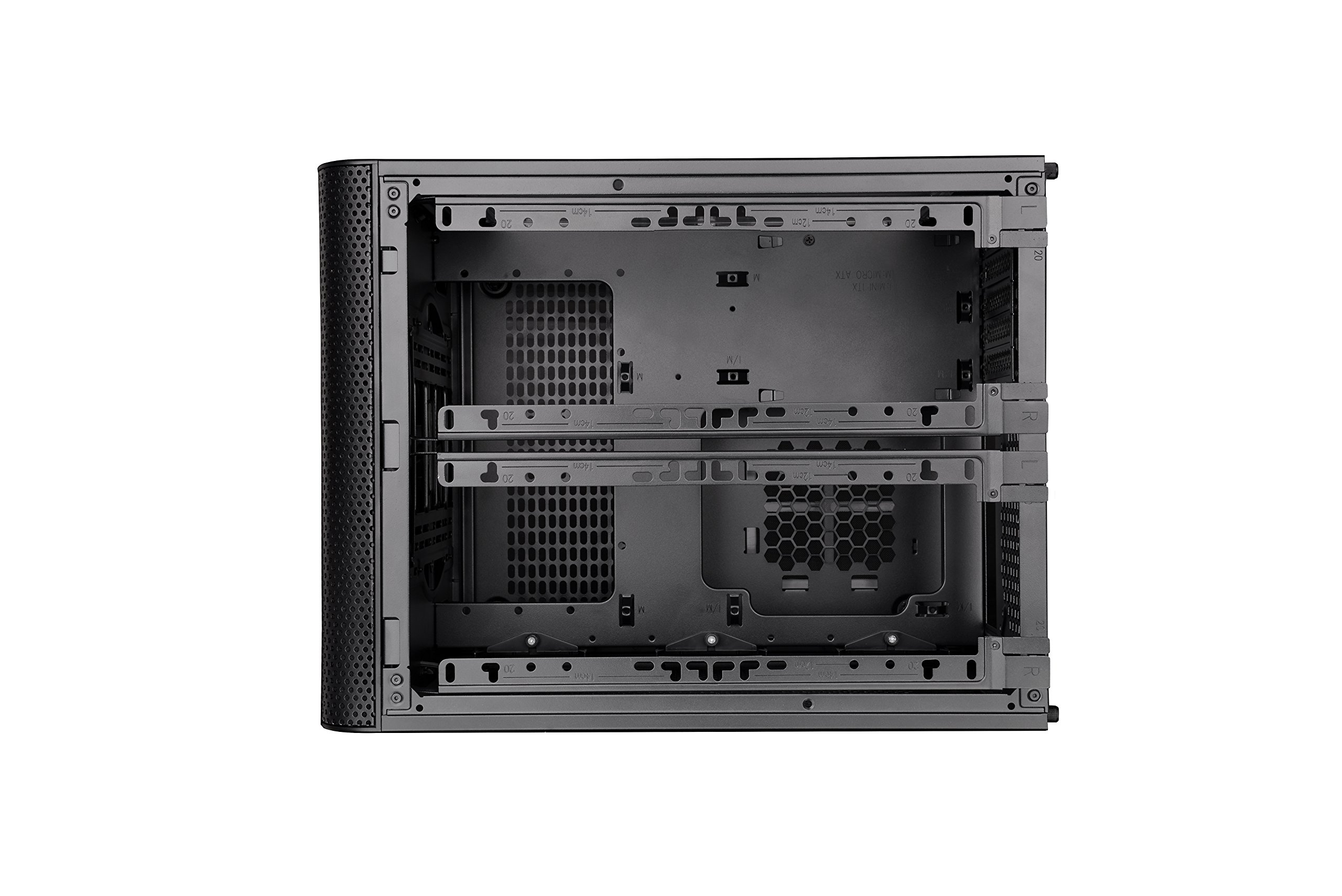 Thermaltake Core V21 SPCC Micro ATX, Mini ITX Cube Gaming Computer Case Chassis, Small Form Factor Builds, 200mm Front Fan Pre-installed, CA-1D5-00S1WN-00 by Thermaltake (Image #23)