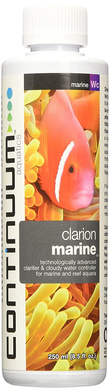 Continuum Aquatics ACO30571 Clarion Marine Clarifier for Aquarium, 8.5-Ounce