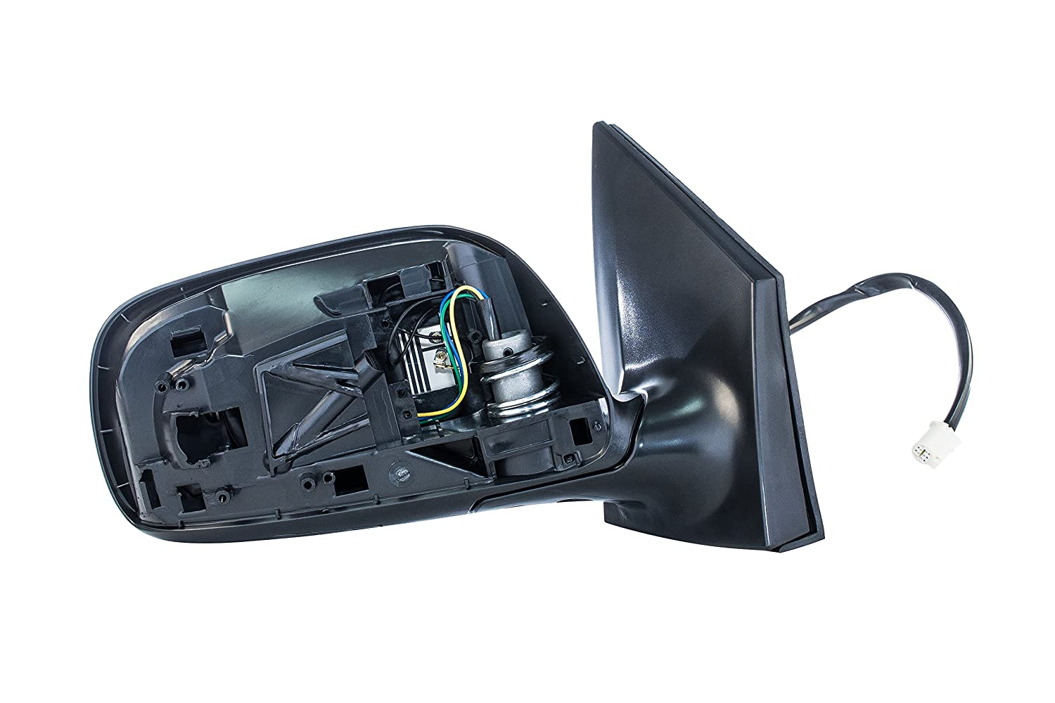 2009 2010 2011 2012 2013 TO1321247 Part Link # Dependable Direct Right Passenger Side Black Heated Manual Folding Door Mirror for Toyota Corolla