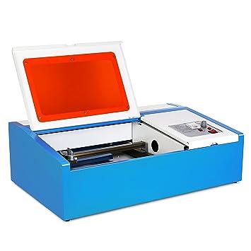 HPcutter Máquina de Grabado Láser Máquina de Grabado Laser Engraving Machine 40 W Mini Cortador para Máquina de Cortar Compatible USB (40W): Amazon.es: ...