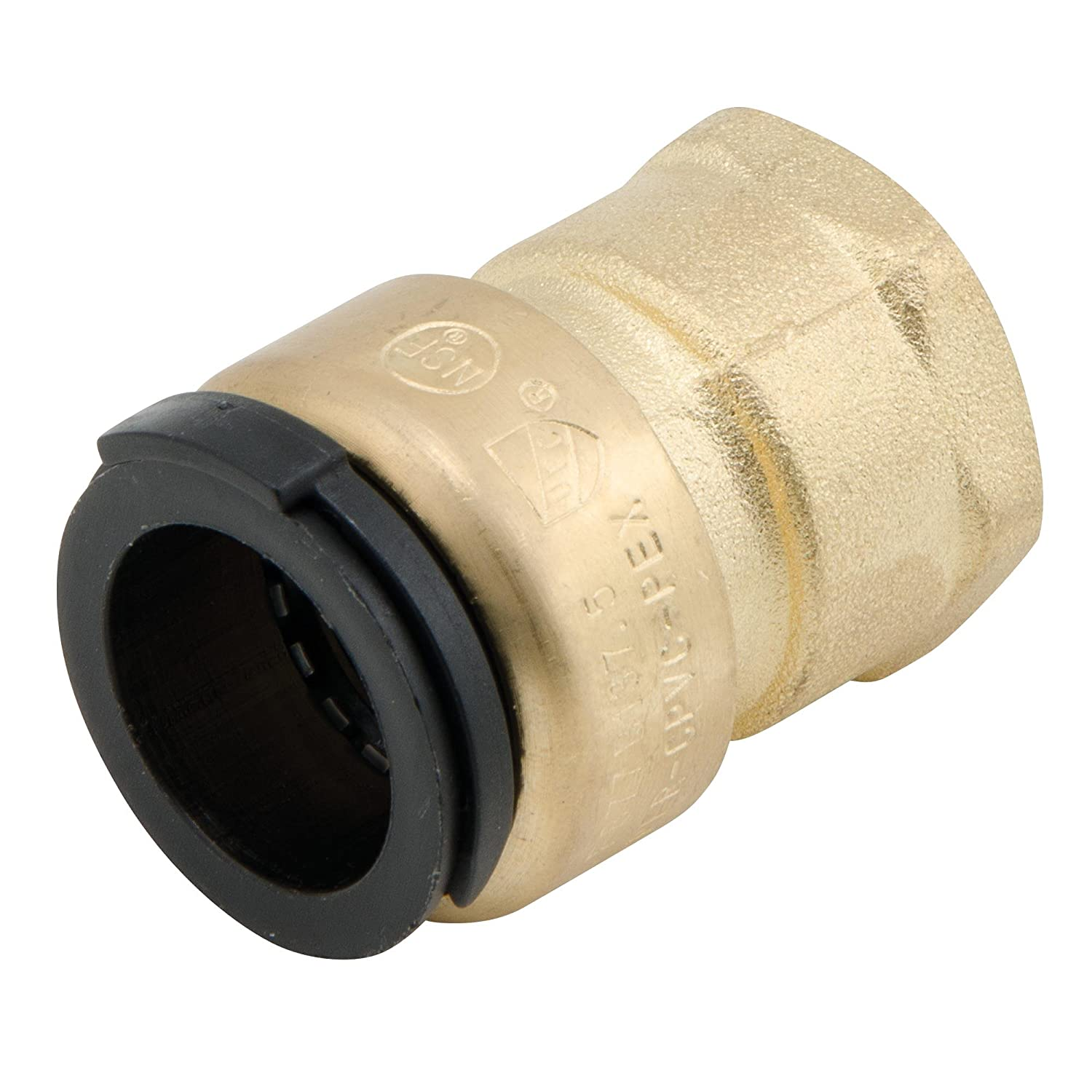 Watts LF4710-1012 1//2-Inch CTS by 3//4-Inch NPT Lead Free Brass Female Connector