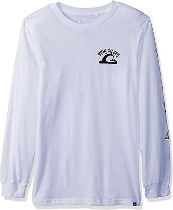 Boy/'s Youth Quicksilver Cotton Long Sleeve Shirt