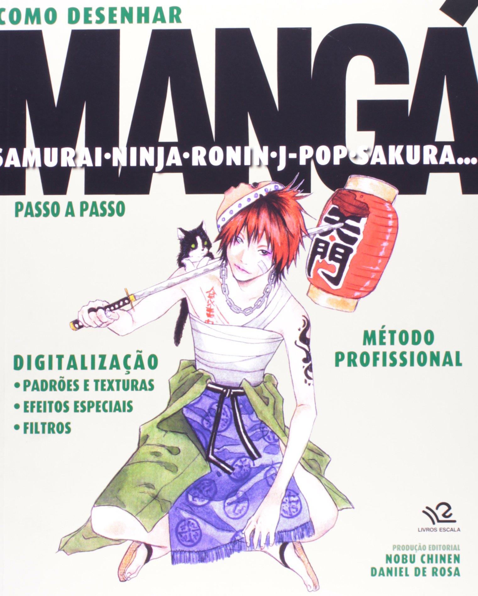 Como Desenhar Mangá Samurai, Ninja (Em Portuguese do Brasil ...