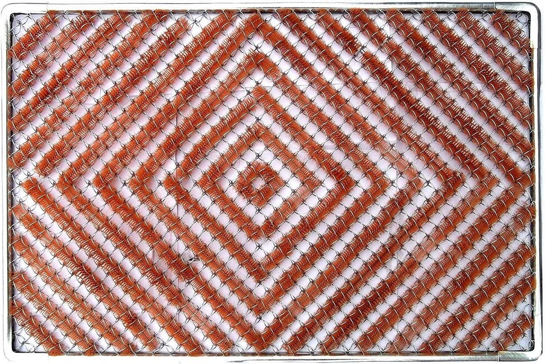 Steel Doormat indoor outdoor. 24 X 35 Front Door,Galvanized doormat, Back Door Mats, Waterproof, Steel Doormat,Decorative Home Decor, Easy clean, Patio, Garages Doormat,