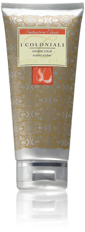 I coloniali Seductive Elixir–Ardent Amber Shower scrub, 200ml J & E Atkinsons CNL00020