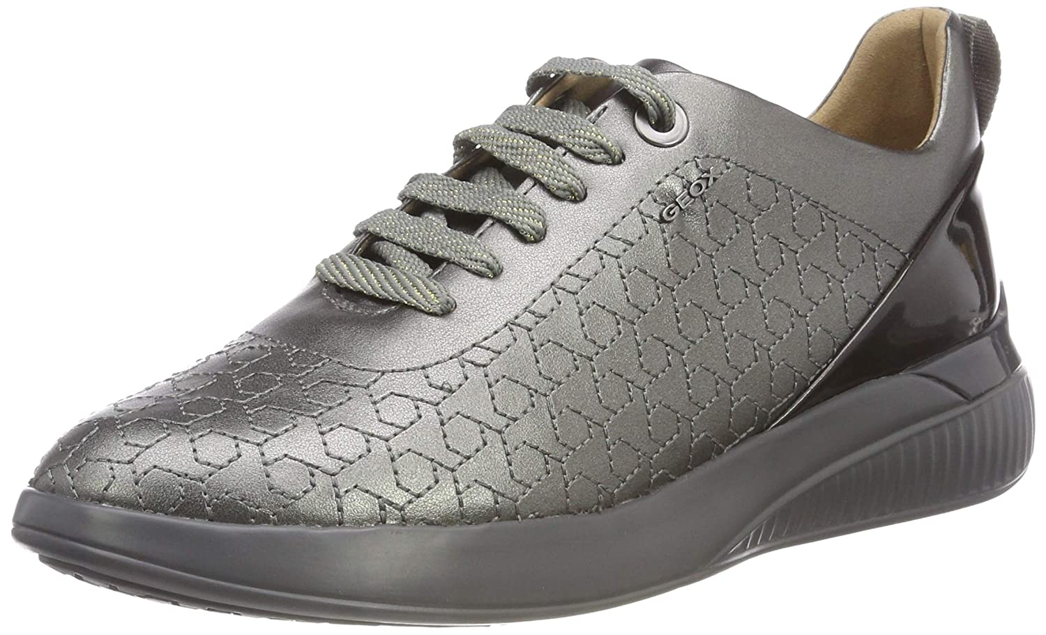 Geox D Theragon C, Zapatillas para Mujer