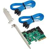 Highpoint Internal 4 SATA-Port PCI-Express 2.0 x4 SATA 6Gb/s RAID Controller Lite Version RocketRAID 640L