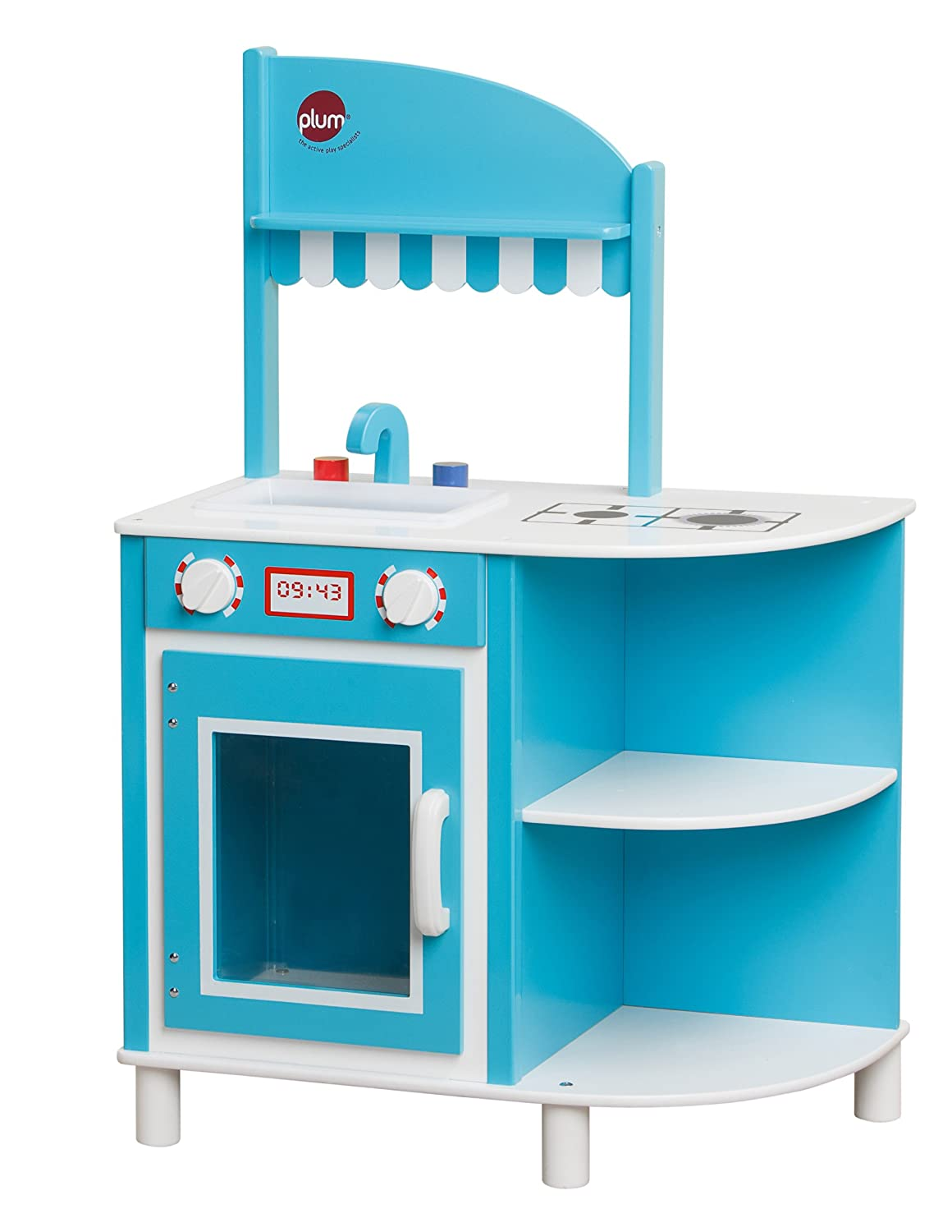 Plum® Hendon Wooden Role Play Kitchen with Accessories: Amazon.co.uk ...