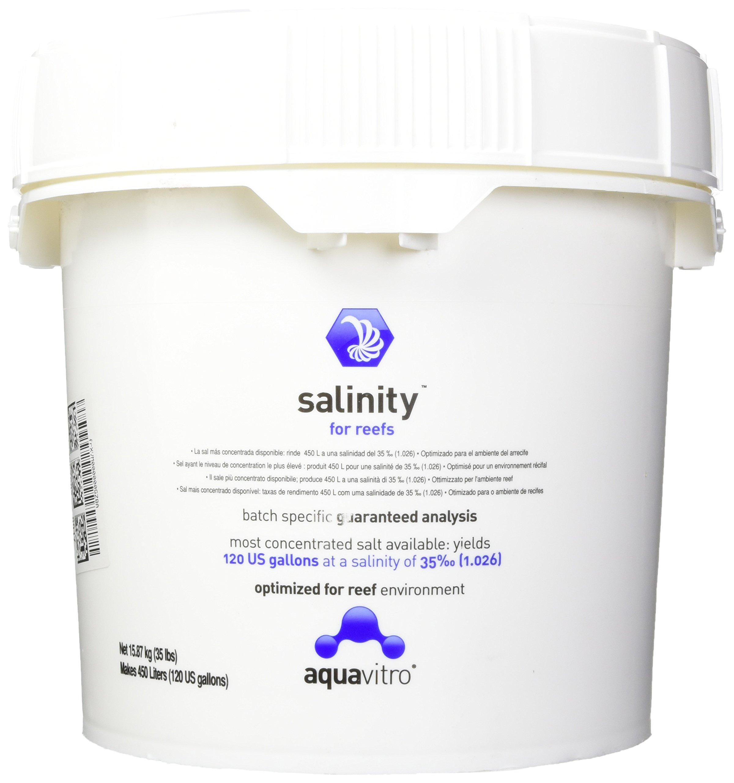 Seachem Laboratories ASM7582 Salinity for Reefs Aquarium Systems, 450-Liter