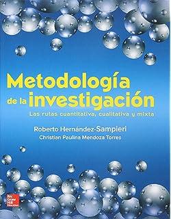 Metodologia Dela Investigacion Sampieri 6ta Edicion Pdf