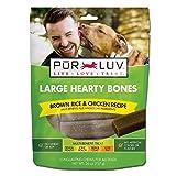 Pur Luv Large Hearty Bones, Chicken Flavor, 26