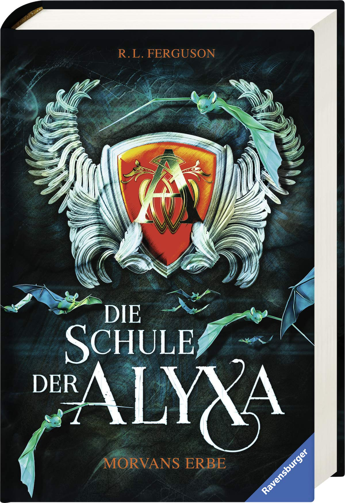 Die Schule der Alyxa, Band 2: Morvans Erbe Gebundenes Buch – 1. Februar 2019 R. L. Ferguson Leo Strohm Ravensburger Buchverlag 3473408298