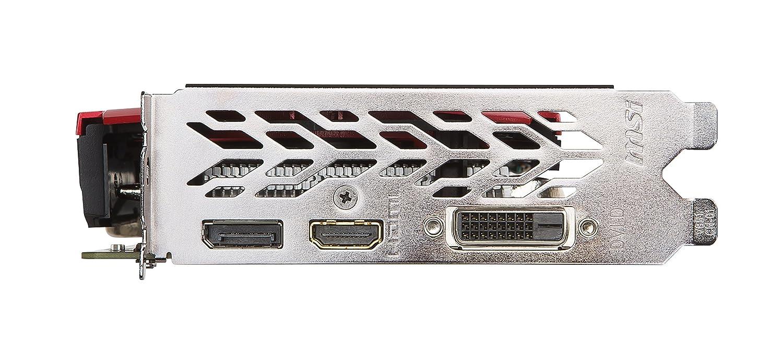 MSI Gaming Scheda grafica GeForce GTX 1050 TI GAMING X 4G GDDR5/DirectX 12/VR Ready