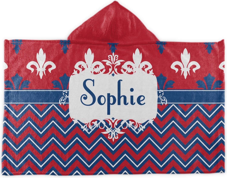 Patriotic Fleur De Lisフード付きタオル( Personalized )   B07764S23L