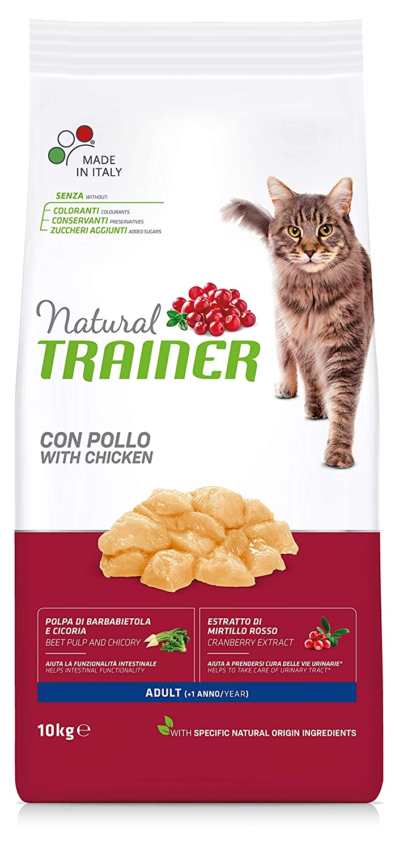 Trainer Natural Cat Adult con Pollo 3 kg 3000 Gr