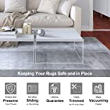 Veken Non-Slip Area Rug Pad Gripper 8 x 10 Ft Extra Thick Pad for Any Hard Surface Floors, Keep Your Rugs Safe and in Place