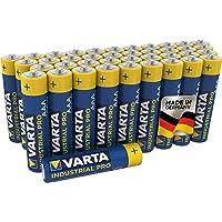 VARTA Industrial Batterij AAA Micro Alkaline Batterijen LR03 - Verpakking van 40 stuks, Made in Germany…