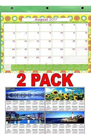 amazon com 2017 2018 12 months student calendar planner 3