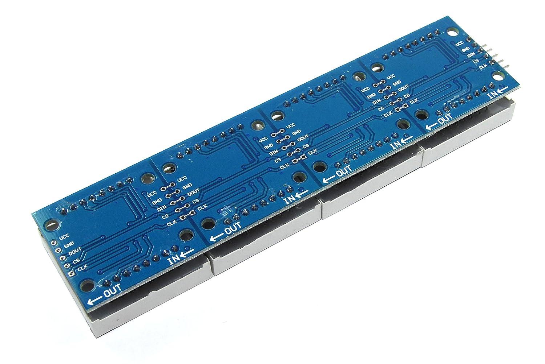 MAX7219/8/x 32/Red Serial DOT Matrix modulo display LED Pi Arduino