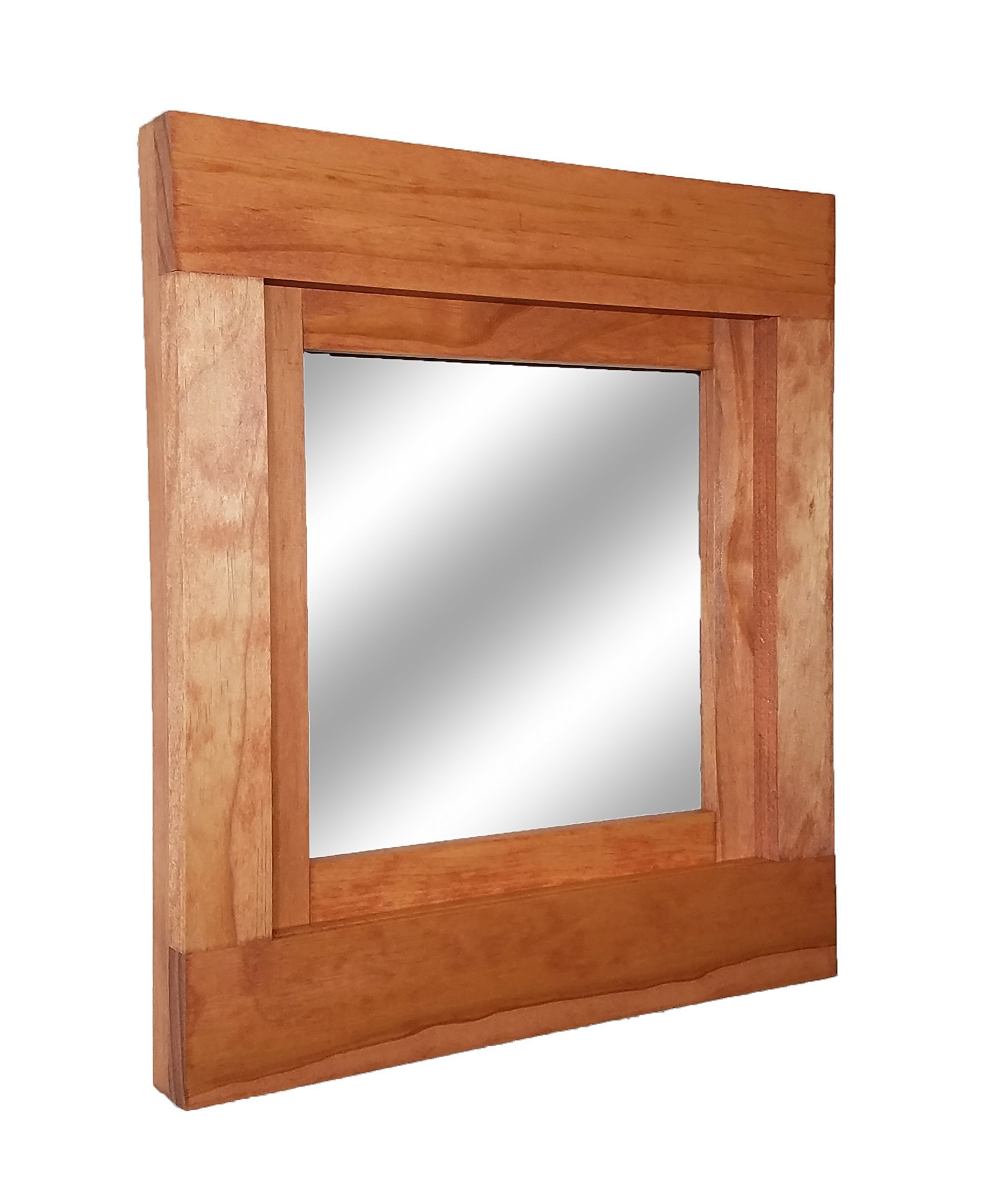 Farmhouse Accent Framed Mirror Available in Two Sizes and 20 Colors - Wall Mirror - Rustic Barn Style Home Decor – Barnwood - Housewares - Woodwork - by Renewed Decor