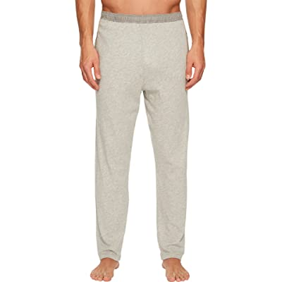 Billy Reid Men's Cotton Cashmere Drawstring Lounge Pant, Light Heather Grey, L at Men's Clothing store