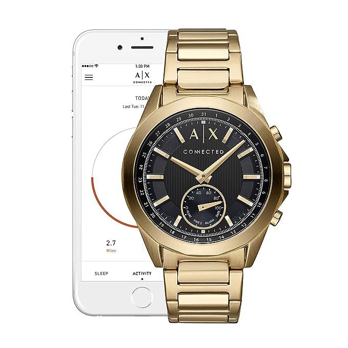 Amazon.com: A/x Armani Exchange Hombre híbrida Smartwatch ...