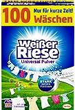 Wit Reus Universeel Poeder, Volledig Wasmiddel, 100 Wasbeurten, Extra Sterk Tegen Vlekken
