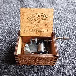 Caja musical de madera grabada Juego de Tronos. Envío gratuito ...