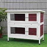 kerbl 81700 kaninchenstall mit heuraufe xxl 155 x 75 x. Black Bedroom Furniture Sets. Home Design Ideas