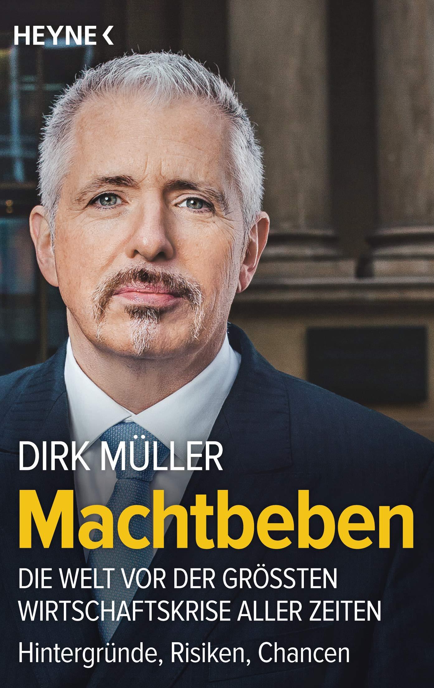 """Dirk Müller Buch """"Machtbeben"""""""