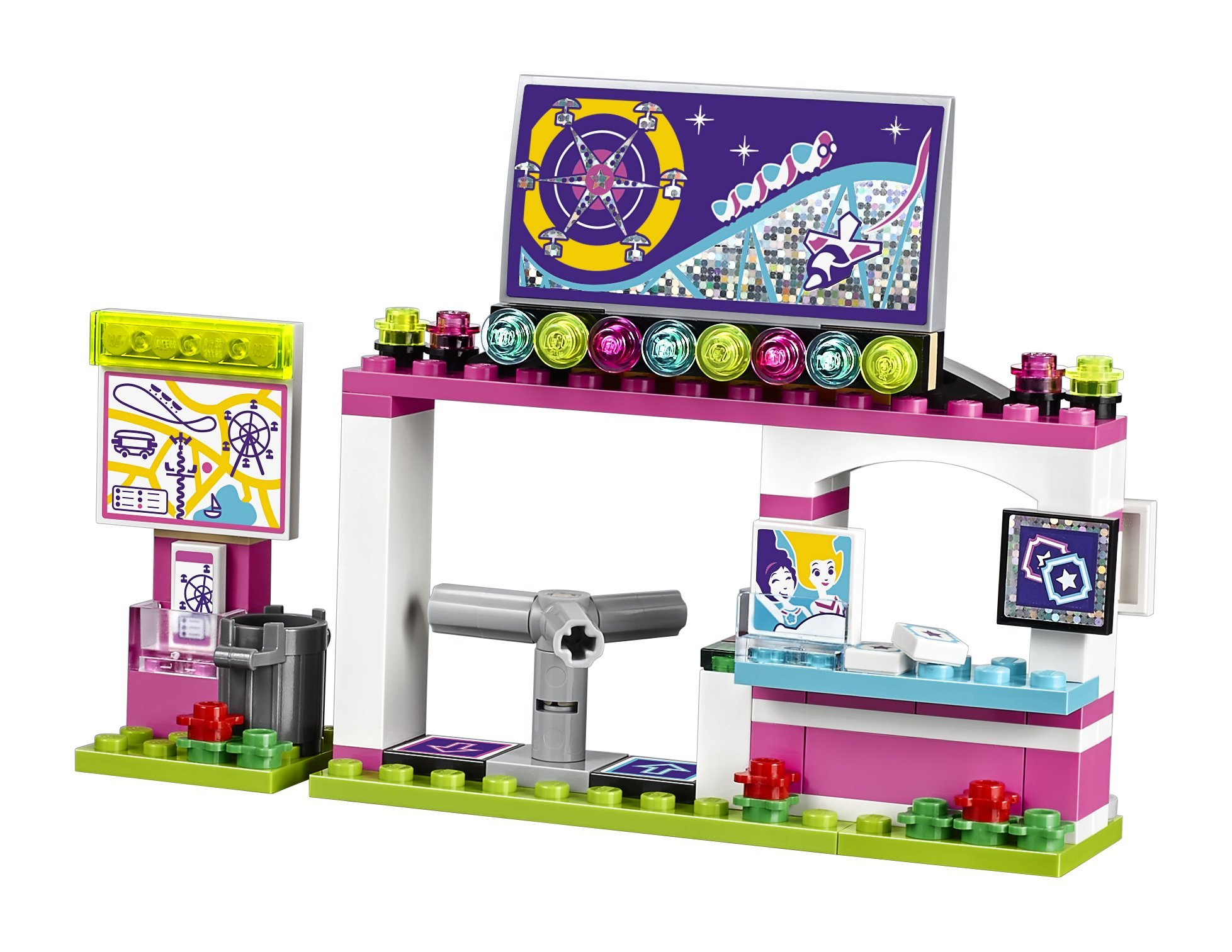 LEGO Friends Amusement Park Roller Coaster 41130 Toy for Girls and Boys by LEGO (Image #7)