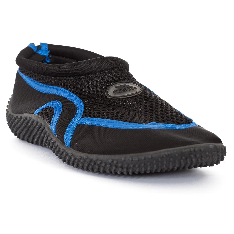 Trespass - Zapatillas de natación acolchadas Modelo Aqua Unisex adultos (40 EU/Negro) Jk7ZI