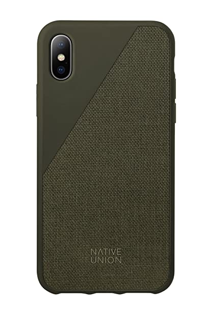 c3dd5de29d Amazon.com: Native Union CLIC Canvas Case - Drop-Proof Protective ...
