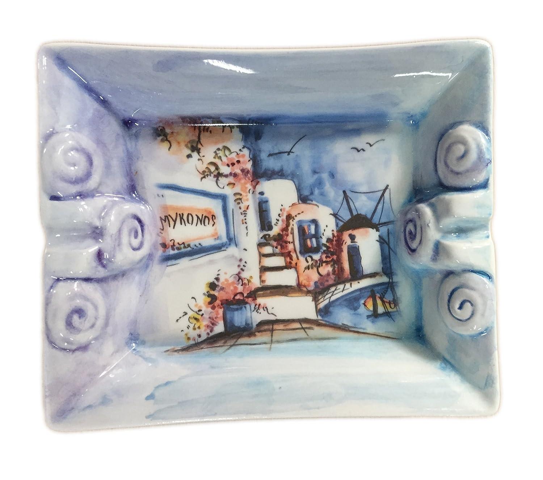 Ceramic handmade ashtray