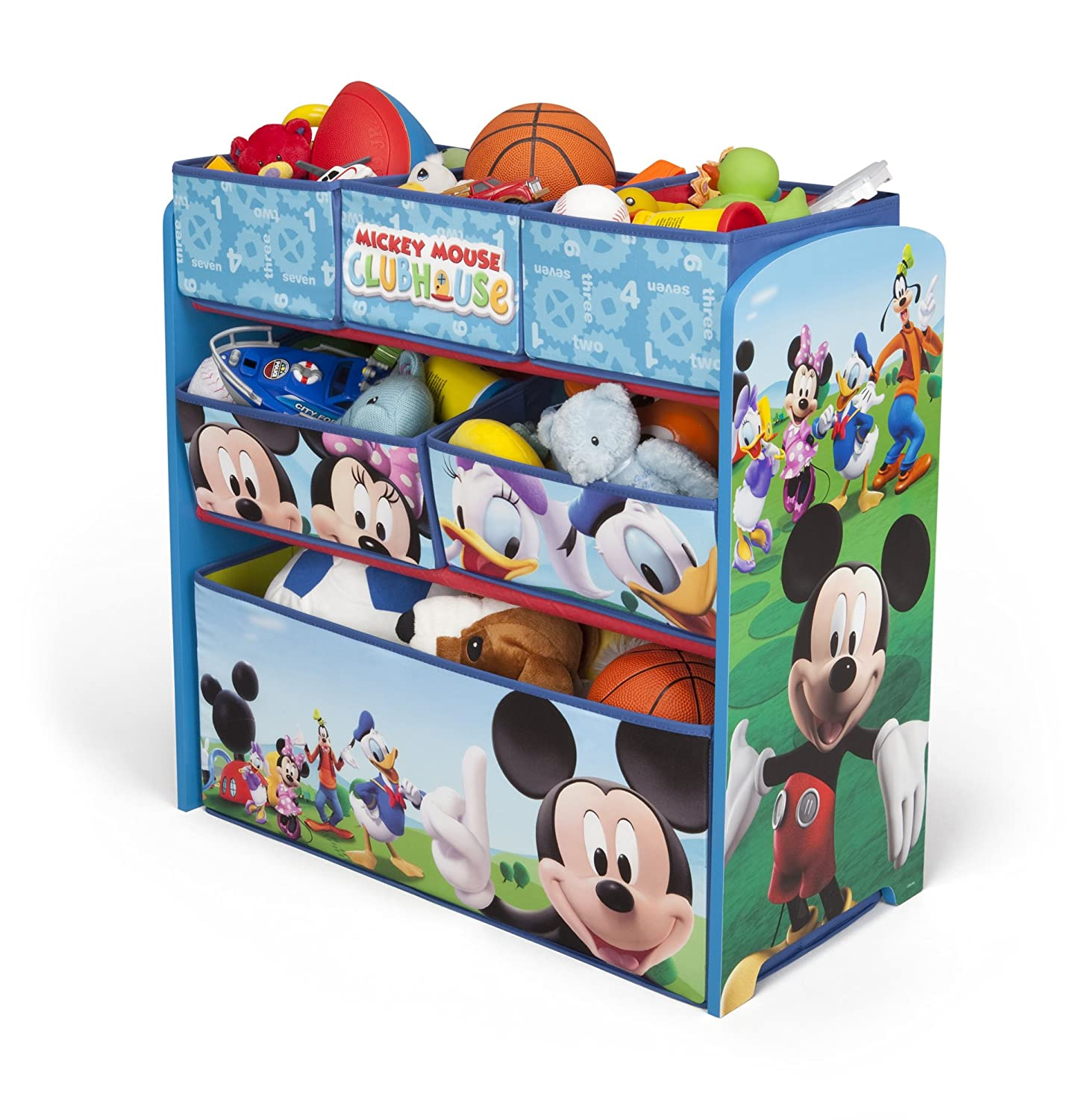Amazon Com Delta Children Mickey Mouse Clubhouse Multi Bin