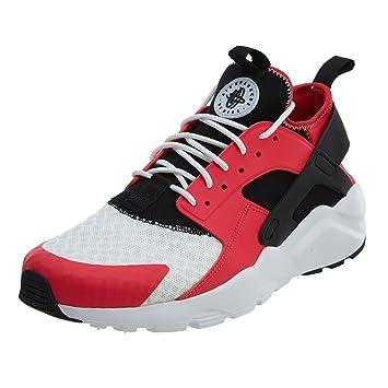 separation shoes f7ce7 78b49 NIKE Mens Air Huarache Run Ultra Siren RedBlack-White 10.5 M US