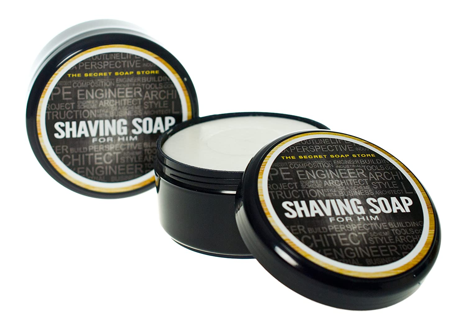 jabón de afeitar, unique Shaving Soap - (200 g)For Him - the best for your skin! Scandia Cosmetics