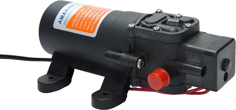 Amarine Made 12-Volt Water Pressure Diaphragm Pump